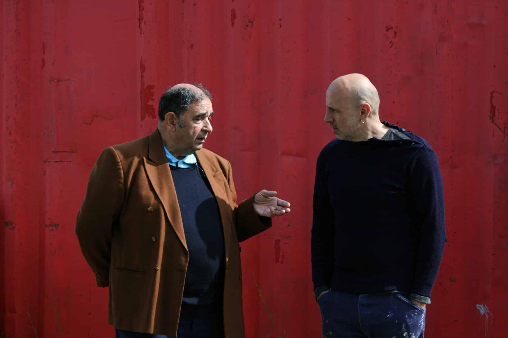 Jo Stimbre et Henry Dattas, l'ancien grutier